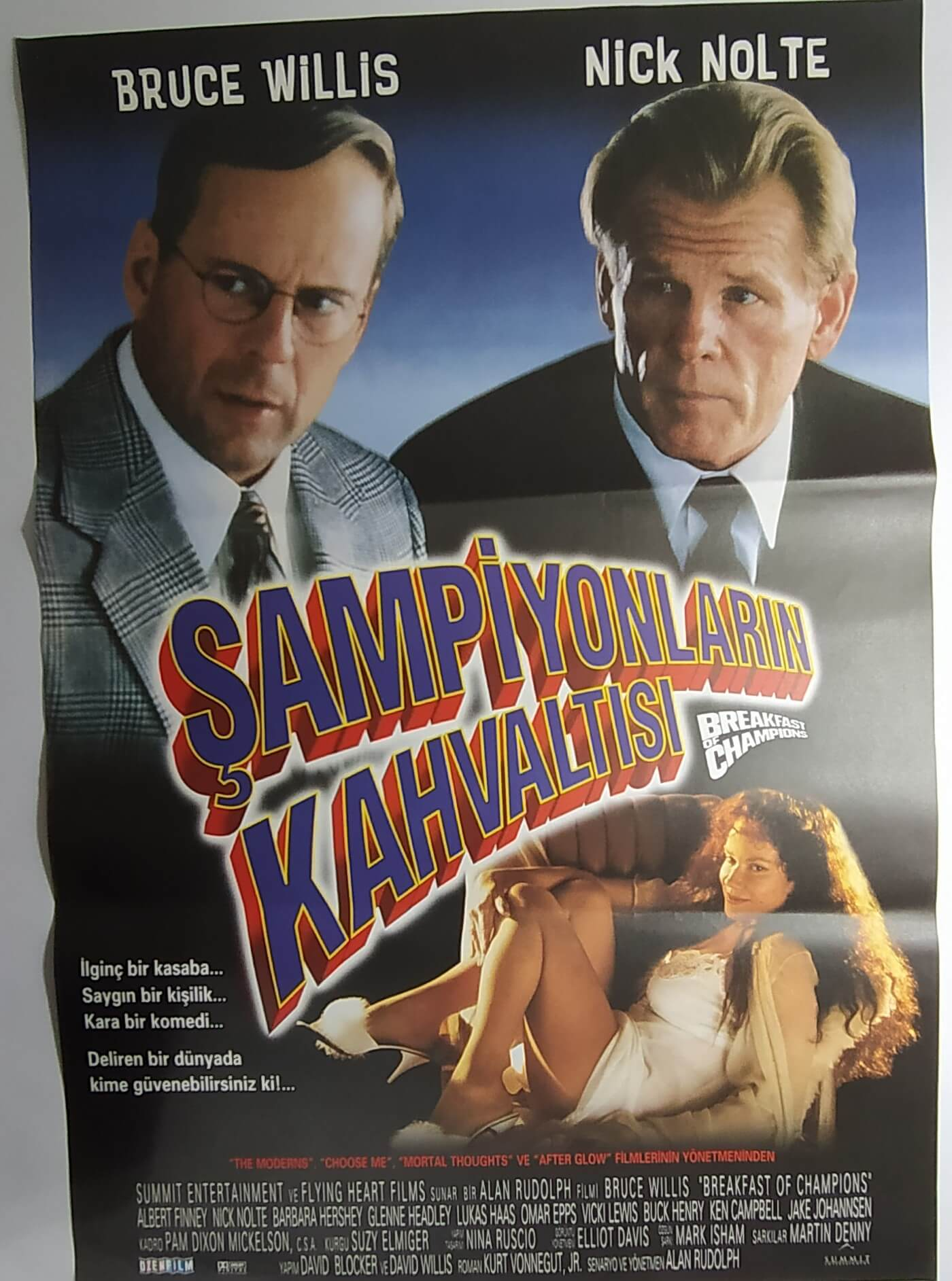 BREAKFAST OF CHAMPIONS movie poster